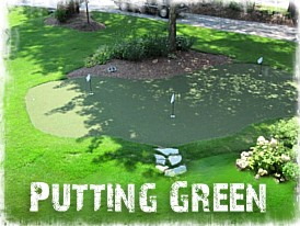 Virginia Beach Putting Green, Chesapeake Synthetic Turf, Portsmouth, Suffolk, Hampton Roads