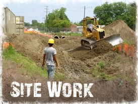 Site Work Preparation in Virginia Beach, Chesapeake, Norfolk, Portsmouth, Hampton Roads